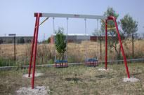 Infants metal swing 2 seats