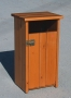 Litter bin with door 65 lt