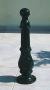 Cast iron bollard 60 cm height